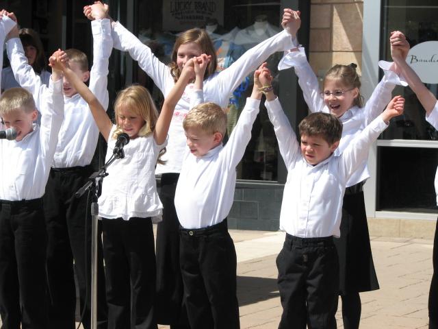 hands up jrchoir
