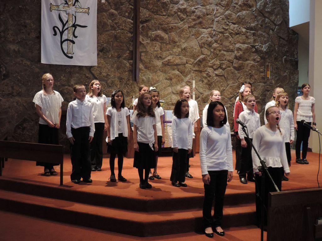 Peformance at Hosanna Lutheran